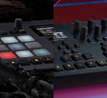 elektron Analog Four Analog Rytm MKII soundwave music producer drum machine synth hardware digital strumenti musicali