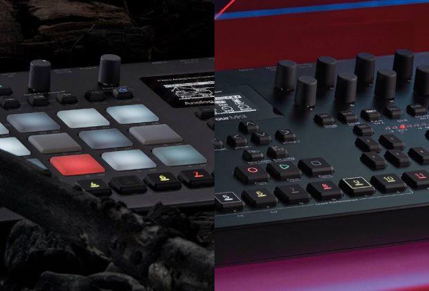 elektron Analog Four Analog Rytm MKII soundwave music producer drum machine synth hardware digital strumenti musicali