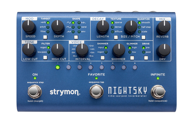 strymon nightsky strumenti musicali