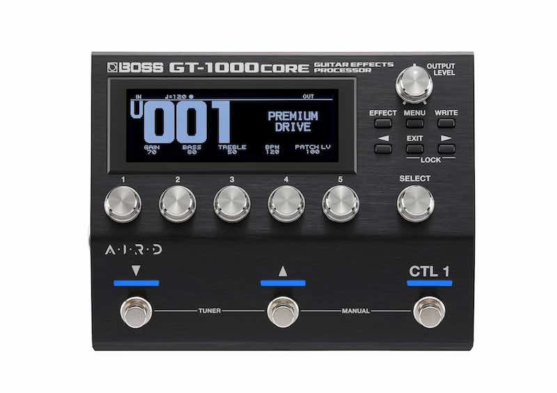 Boss GT-1000CORE roland chitarra guitar fx pedaliera pedali stompbox strumenti musicali