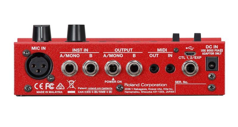 Boss RC-500 loopstation pedaliera pedale stompbox roland loop chitarra guitar strumenti musicali prezzo