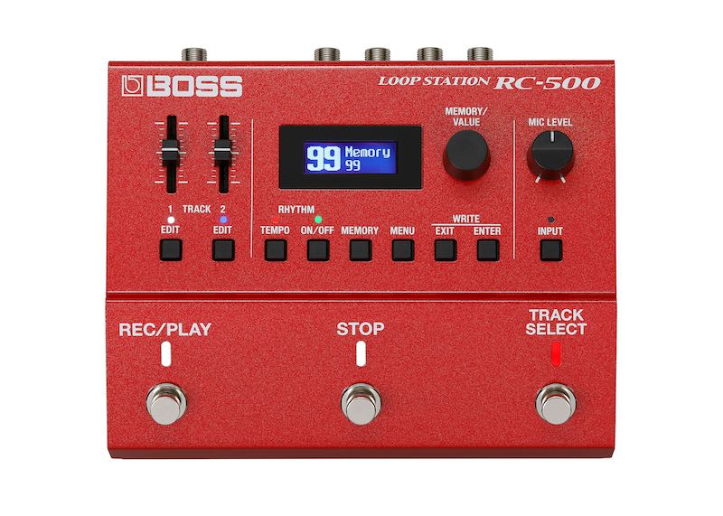 Boss RC-500 loopstation pedaliera pedale stompbox roland loop chitarra guitar strumenti musicali