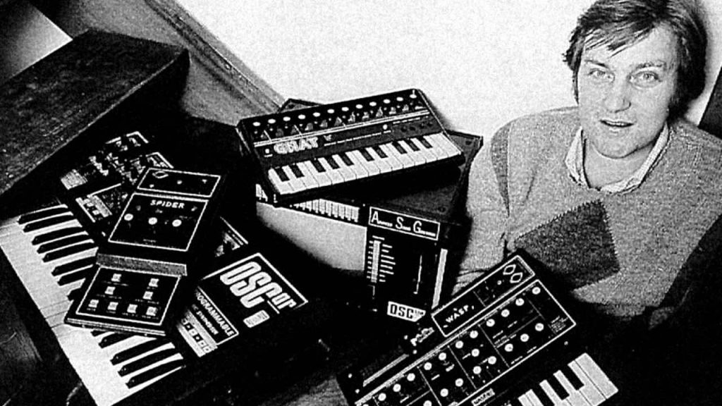 Chris Huggett synth hardware WASP novation bass station strumenti musicali attualità