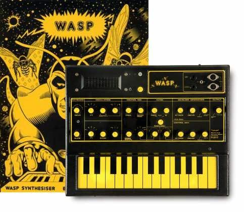 chris huggett EDP WASP synth sintetizzatore hardware strumenti musicali