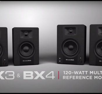 M-Audio BX3 BX4 home studio monitor audio project soundwave strumenti musicali recording mix