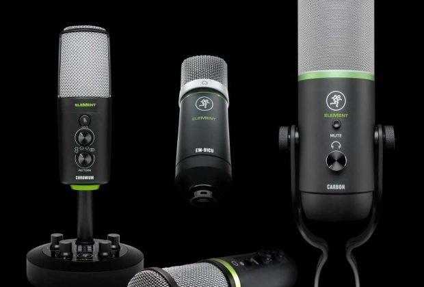 Mackie Element mic usb usb-c home studio rec podcast broadcast adagio strumenti musicali