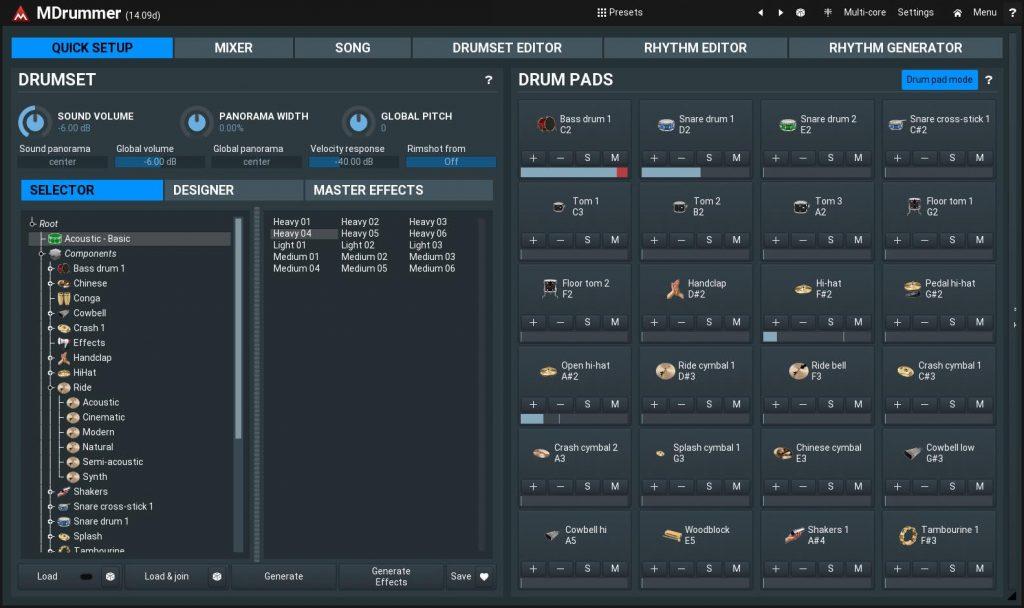 Melda Production Drum Empire 2020 sample library virtual instrument free gratis mdrummer strumenti musicali