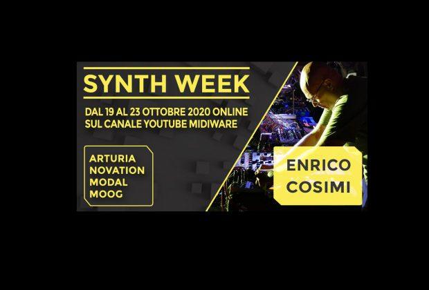 Midiware Synth Week 2020 eventi hardware software enrico cosimi strumenti musicali