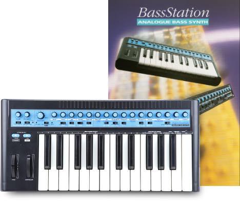 chris huggett Novation BassStation synth sintetizzatore hardware strumenti musicali