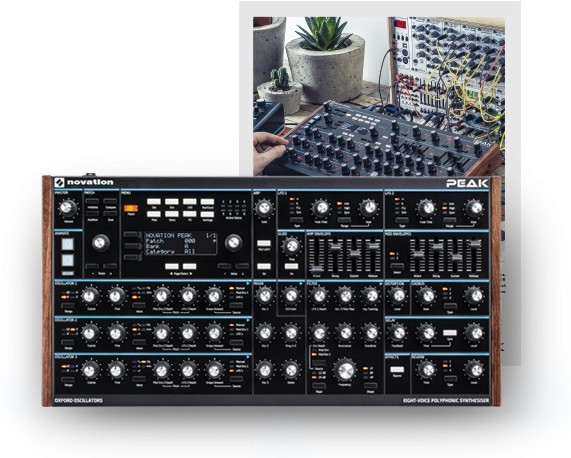 chris huggett Novation peak synth sintetizzatore hardware strumenti musicali