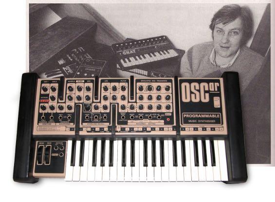 chris huggett OSCar synth sintetizzatore hardware strumenti musicali