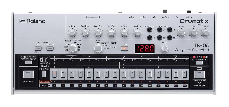 Roland TR06 drum machine hardware digital music producer strumenti musicali