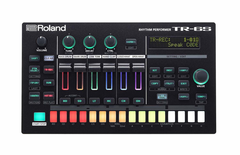 Roland TR6S drum machine hardware digital music producer strumenti musicali