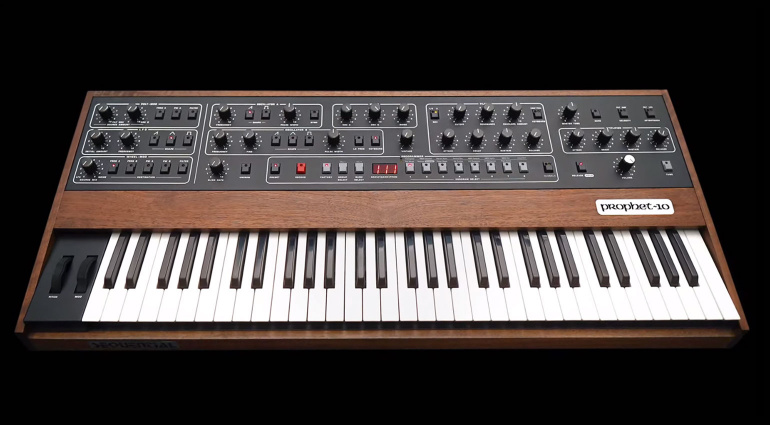 Sequential Prophet-10 hardware sintetizzatore synth music producer dave smith strumenti musicali