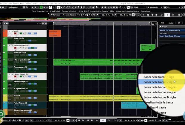 Steinberg Cubase videotutorial 4 tutorial software daw music production pierluigi bontempi strumenti musicali