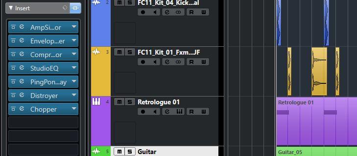 Trap Guitar - FX Insert strumenti musicali