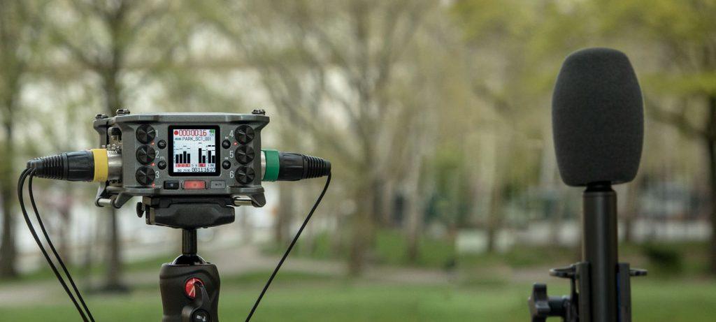 Zoom F6 ambisonics mogar registratore portatile rec recorder studio audio pro live audiofader test vincenzo bellanova