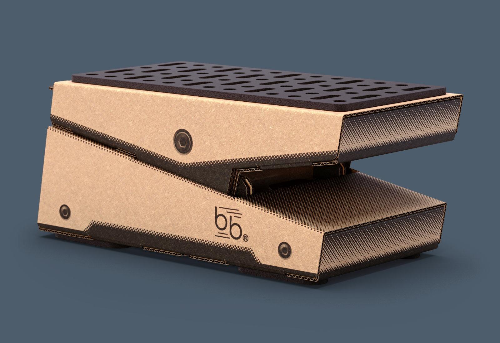 beat bars cardboard expression pedal strumenti musicali