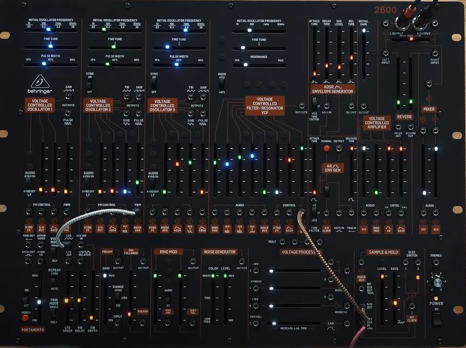 behringer arp 2600 review synth modular hardware sintetizzatore