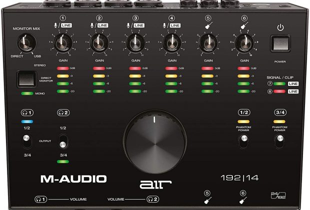 m-audio air 192 14 interfaccia strumenti musicali