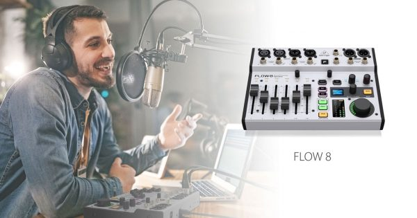 Behringer Flow 8 mixer hardware live studio audio strumenti musicali