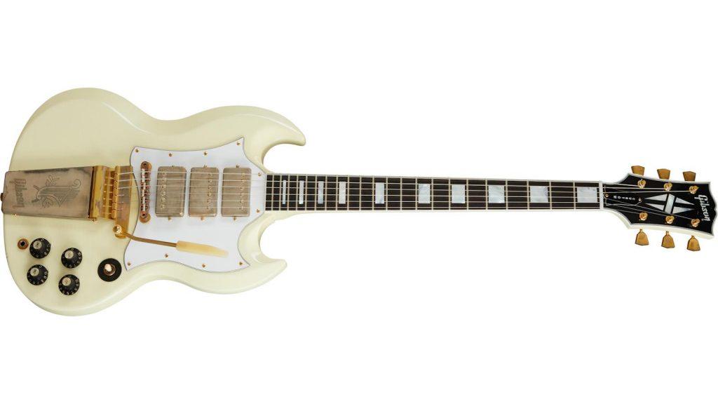 Gibson Jimi Hendrix 1967 SG Custom Aged Polaris White chitarra guitar artist collection strumenti musicali
