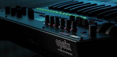 Korg opsix altered FM synth sintetizzatore hardware algam eko strumenti musicali