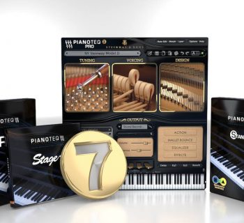 Modartt Pianoteq 7 virtual instrument sample library piano software strumenti musicali