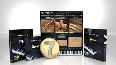 Modartt Pianoteq 7 virtual instrument sample library piano software strumenti musicali
