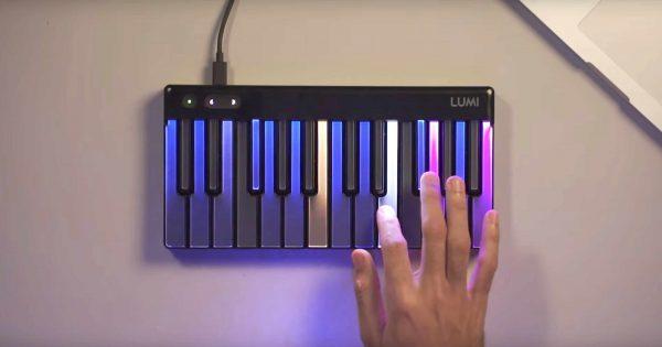 ROLI LUMI Keys Studio Edition tastiera hardware digital controller master keyboard tastiera algam eko strumenti musicali
