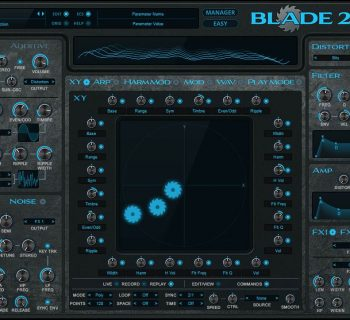 RobPapen Blade 2 virtual instrument soft synth sintetizzatore music producer daw strumenti musicali