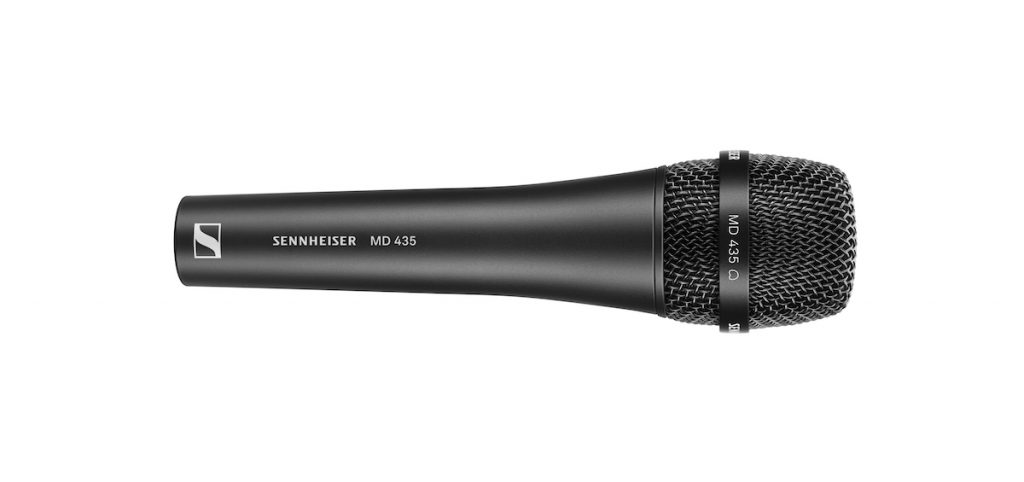 Sennheiser MD 435 mic wired rec vocal exhibo strumenti musicali
