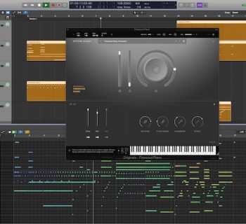 Spitfire Orig!nals Firewood Piano virtual instrument sample library strumenti musicali