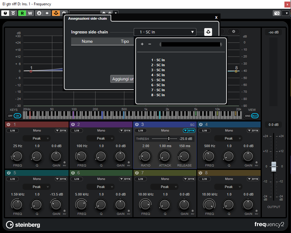 Steinberg Cubase 11 daw software rec mix mastering edit test pierluigi bontempi pro audio studio strumenti musicali Frequency 2