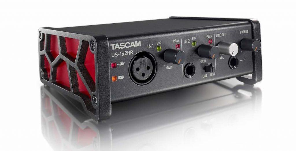 Tascam US serie US-1x2HR interfaccia audio rec aeb home studio strumenti musicali
