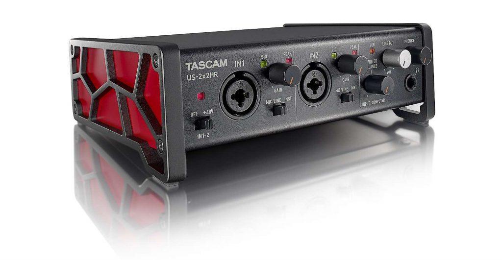 Tascam US serie US-2x2HR interfaccia audio rec aeb home studio strumenti musicali