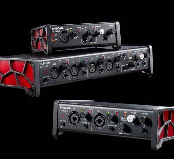 Tascam US serie US-1x2HR US-2x2HR US-4x4HR interfaccia audio rec aeb home studio strumenti musicali