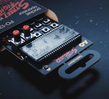 Teenage Engineering PO Street Fighter synth music producer strumenti musicali