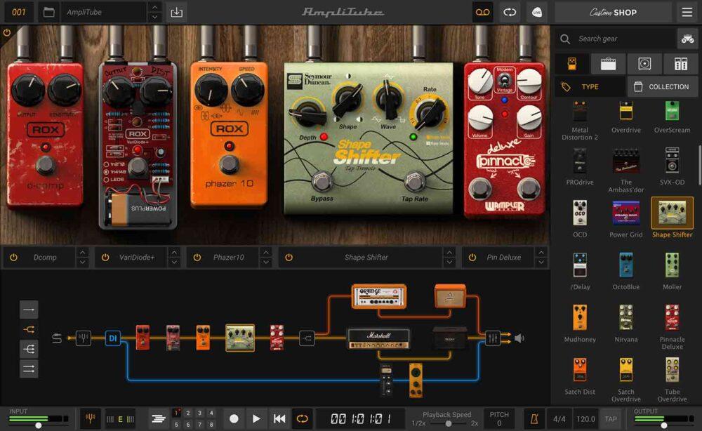 amplitube 5 strumenti musicali