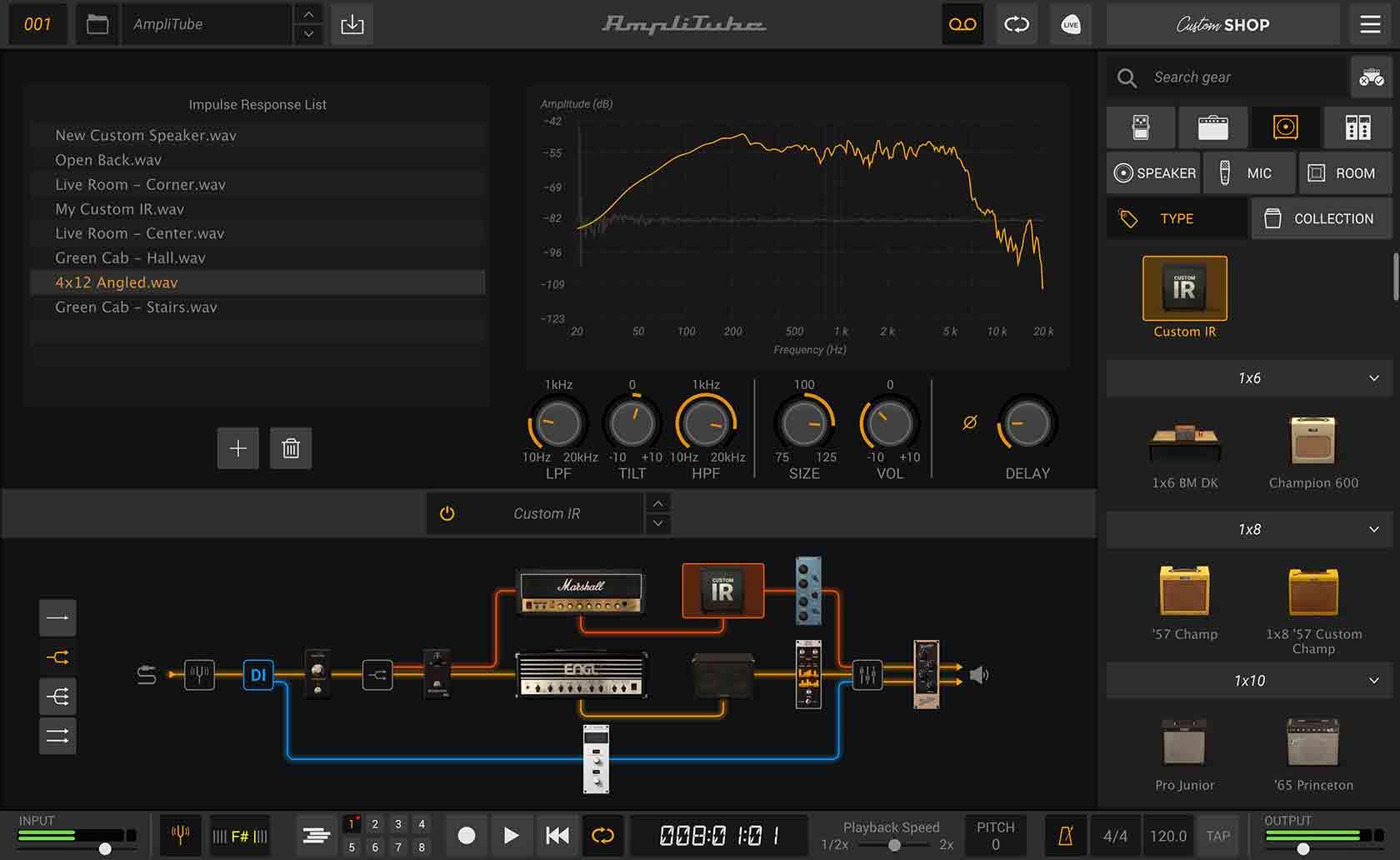 amplitube 5 IR strumentimusicali prova