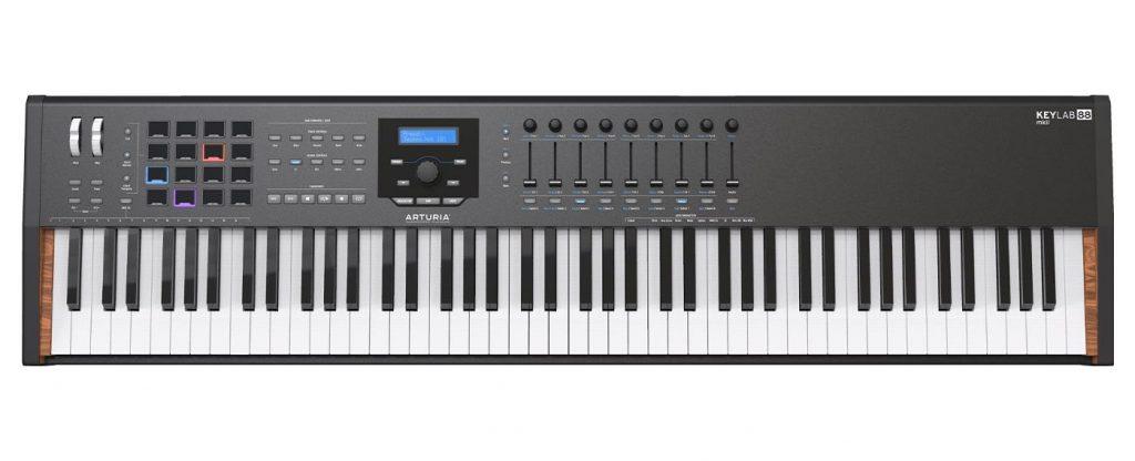 Arturia KeyLab 88 mkii MiniLab hardware controller midi orange special edition midiware strumenti musicali