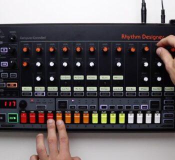 Behringer rd8 hardware synth sintetizzatore music producer drum machine update aggiornamento firmware prezzo strumenti musicali