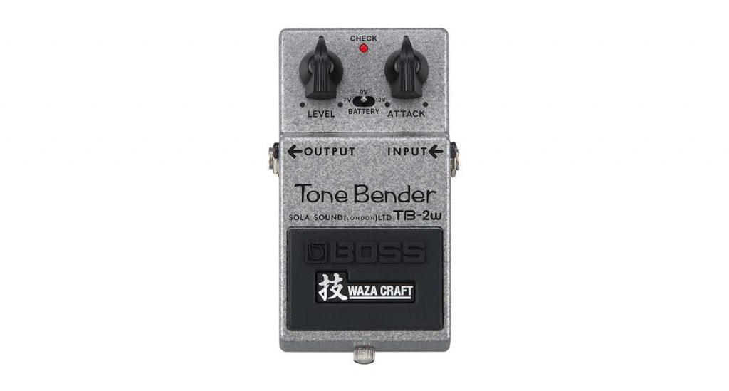 Boss TB-2w chitarra elettrica guitar stompbox effetti fx tone bender strumenti musicali