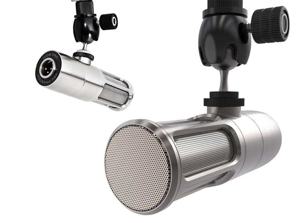 Earthworks Audio Icon mic microfono xlr recording rec studio podcast broadcast home midiware strumenti musicali