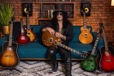 Gibson Slash Victoria Les Paul Standard Goldtop chitarra elettrica guitar electric signature strumenti musicali