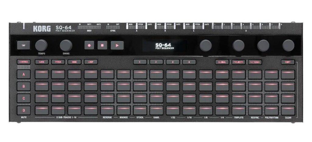 Korg SQ-64 sequencer producer hardware controller prezzo algam eko strumenti musicali