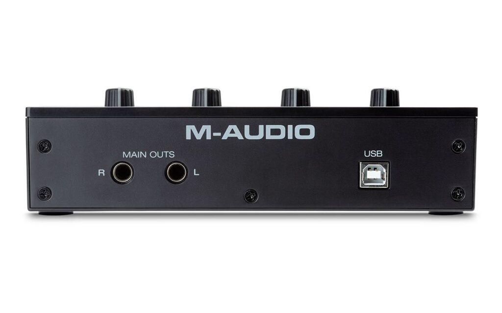 M-Audio M-Track Duo interfaccia audio home studio soundwave strumenti musicali news