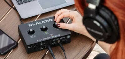 M-Audio M-Track Solo interfaccia audio home studio soundwave strumenti musicali news