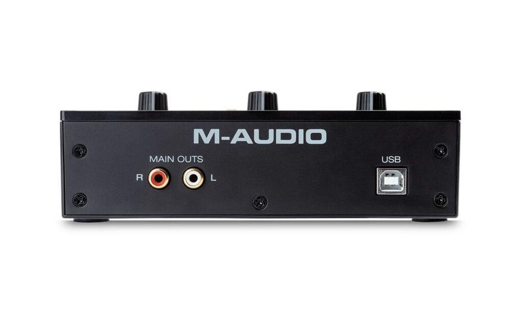M-Audio M-Track Solo interfaccia audio home studio soundwave strumenti musicali news