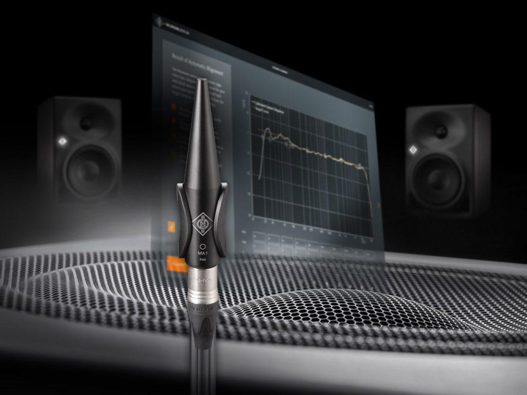 Neumann MA-1 microfono misurazioni correzione acustica studio pro audio home exhibo strumenti musicali recording rec monitor monitoring